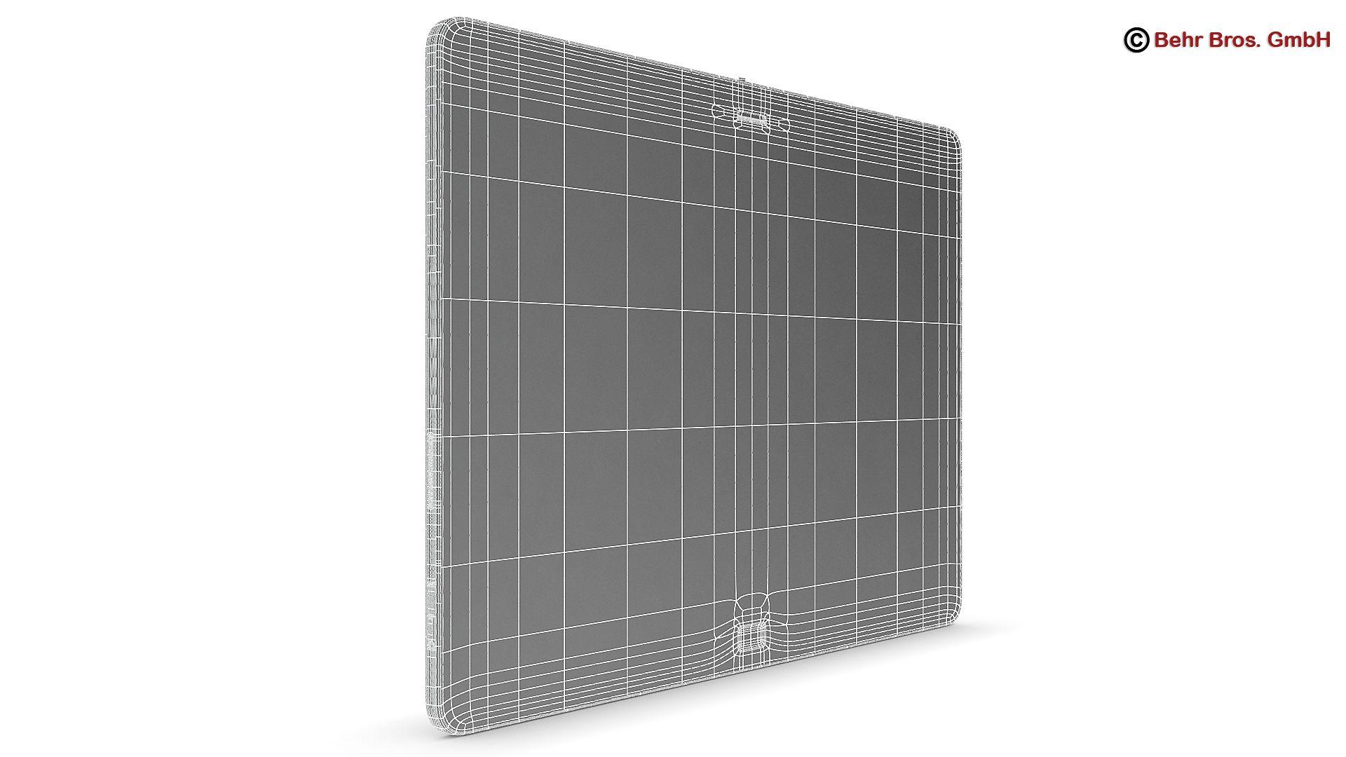 generic tablet 10.1 inch 3d model 3ds max fbx c4d lwo ma mb obj 162891