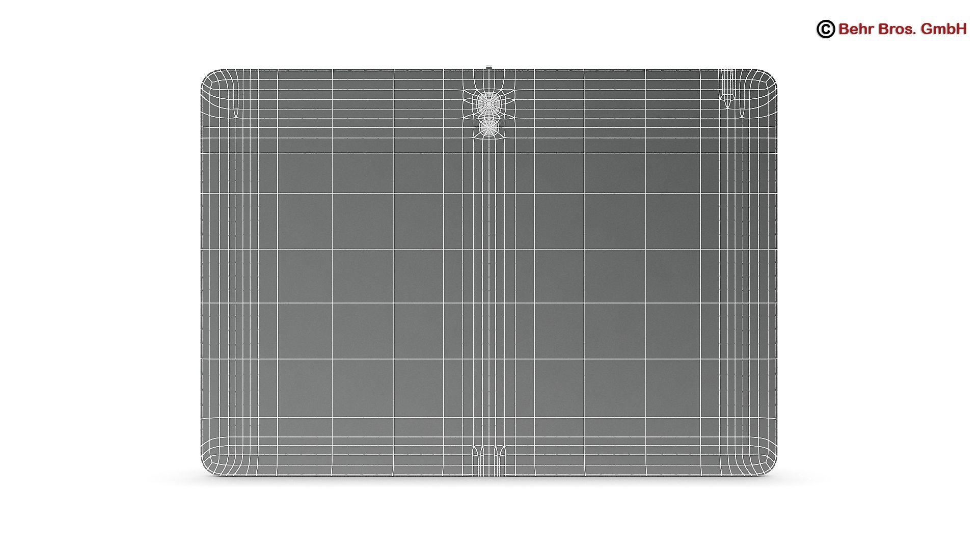 generic tablet 10.1 inch 3d model 3ds max fbx c4d lwo ma mb obj 162892