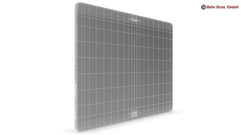 generic tablet 3d model 12.2 inch max fbx c4d lwo ma mb obj 162314