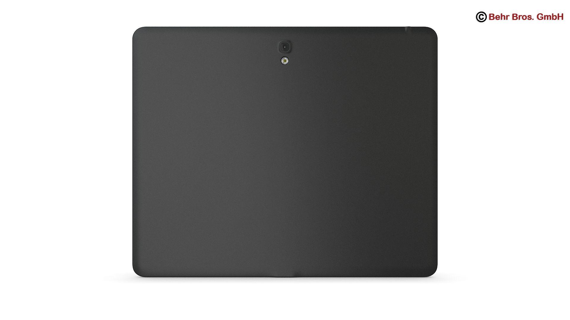 generic tablet 9.7 inch 3d model 3ds max fbx c4d lwo ma mb obj 162903