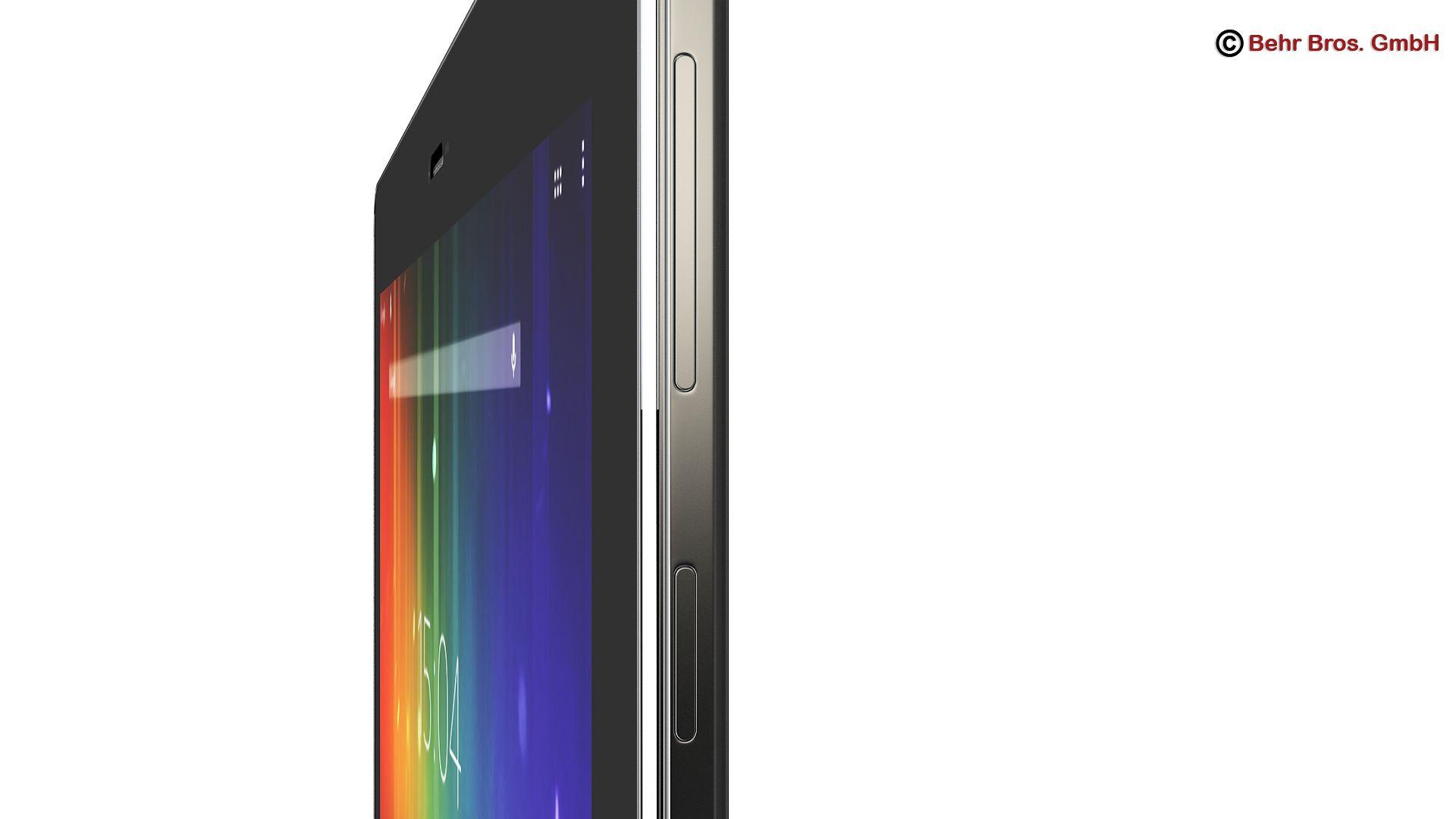 generic tablet 9.7 inch 3d model 3ds max fbx c4d lwo ma mb obj 162908