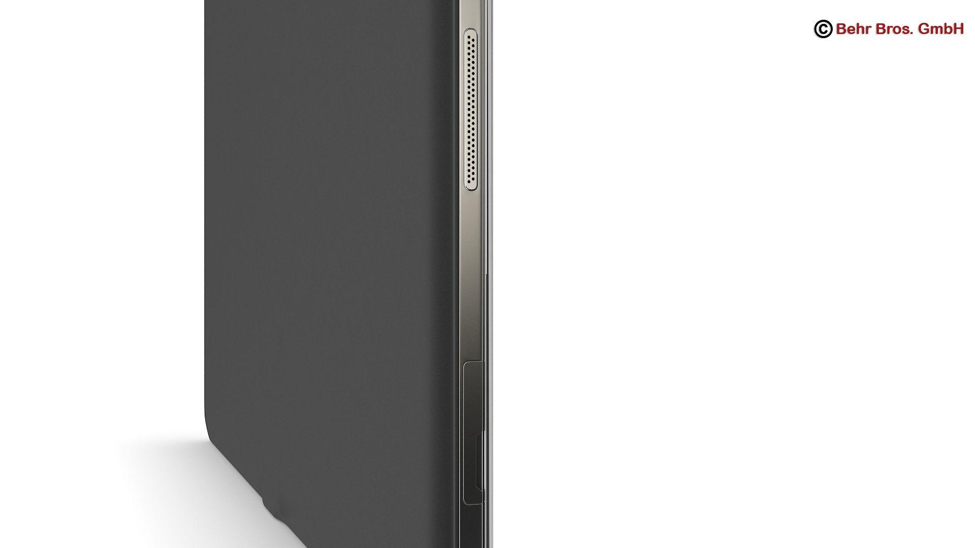 generic tablet 9.7 inch 3d model 3ds max fbx c4d lwo ma mb obj 162909