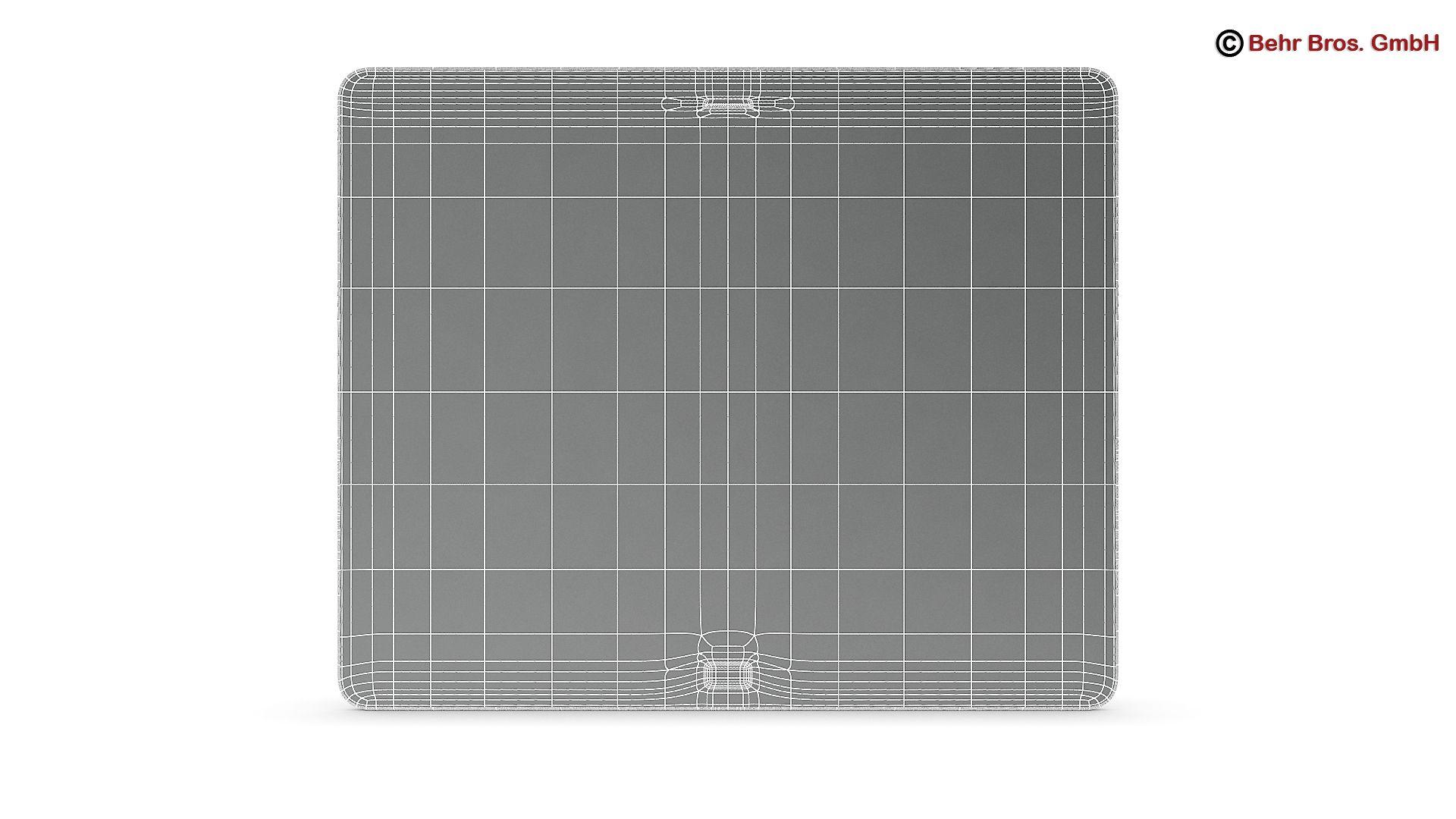 generic tablet 9.7 inch 3d model 3ds max fbx c4d lwo ma mb obj 162912