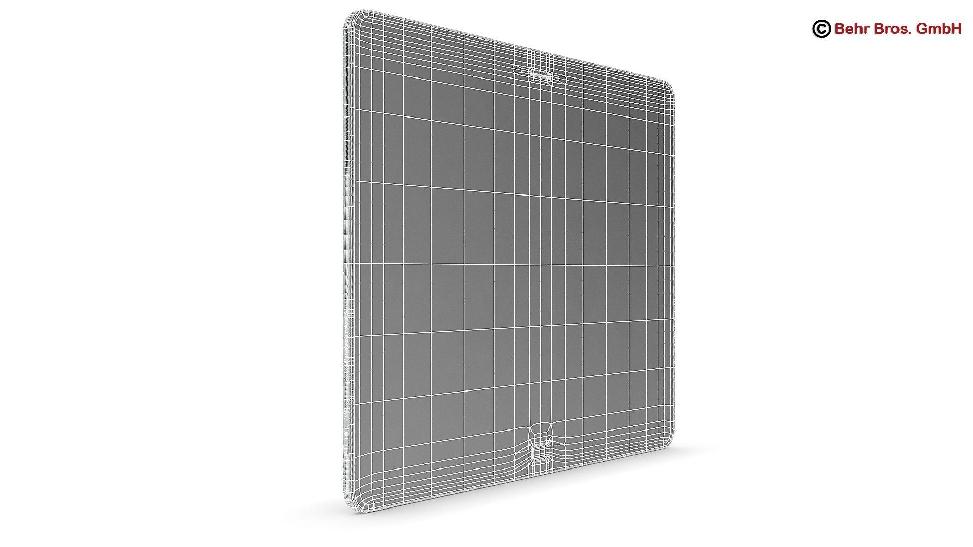 generic tablet 9.7 inch 3d model 3ds max fbx c4d lwo ma mb obj 162913