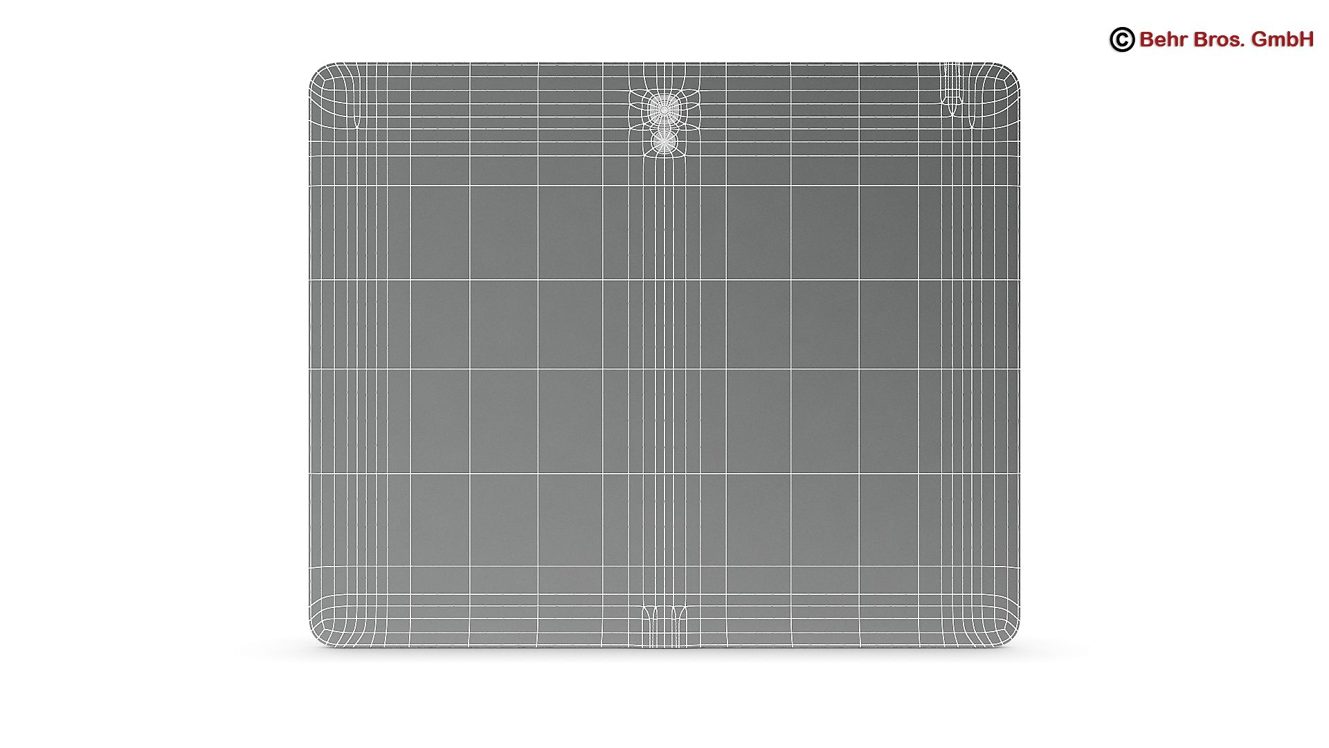 generic tablet 9.7 inch 3d model 3ds max fbx c4d lwo ma mb obj 162914
