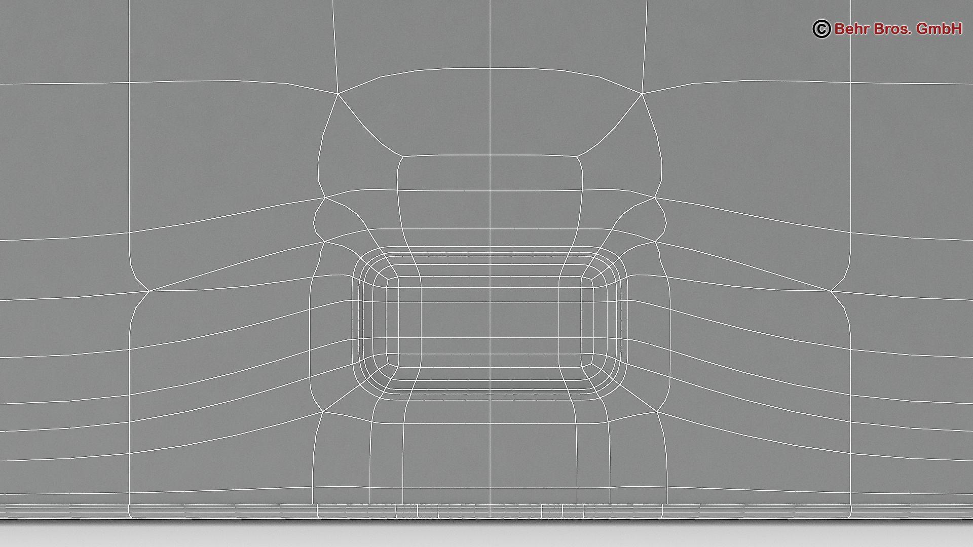 generic tablet 9.7 inch 3d model 3ds max fbx c4d lwo ma mb obj 162922