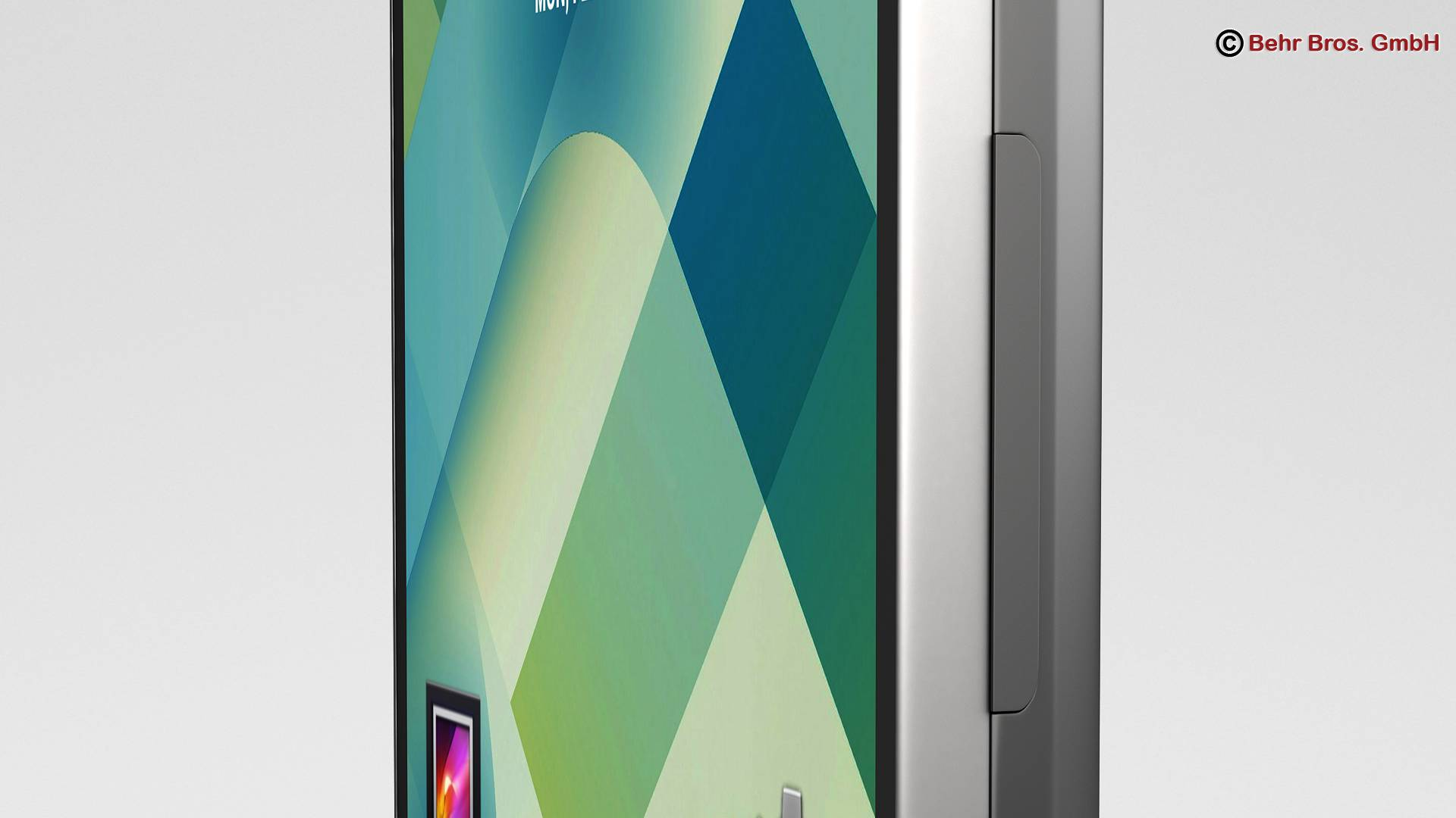 Generic Smartphone 4.6 Inch 3d model 3ds max fbx c4d lwo lws lw ma mb obj 161638