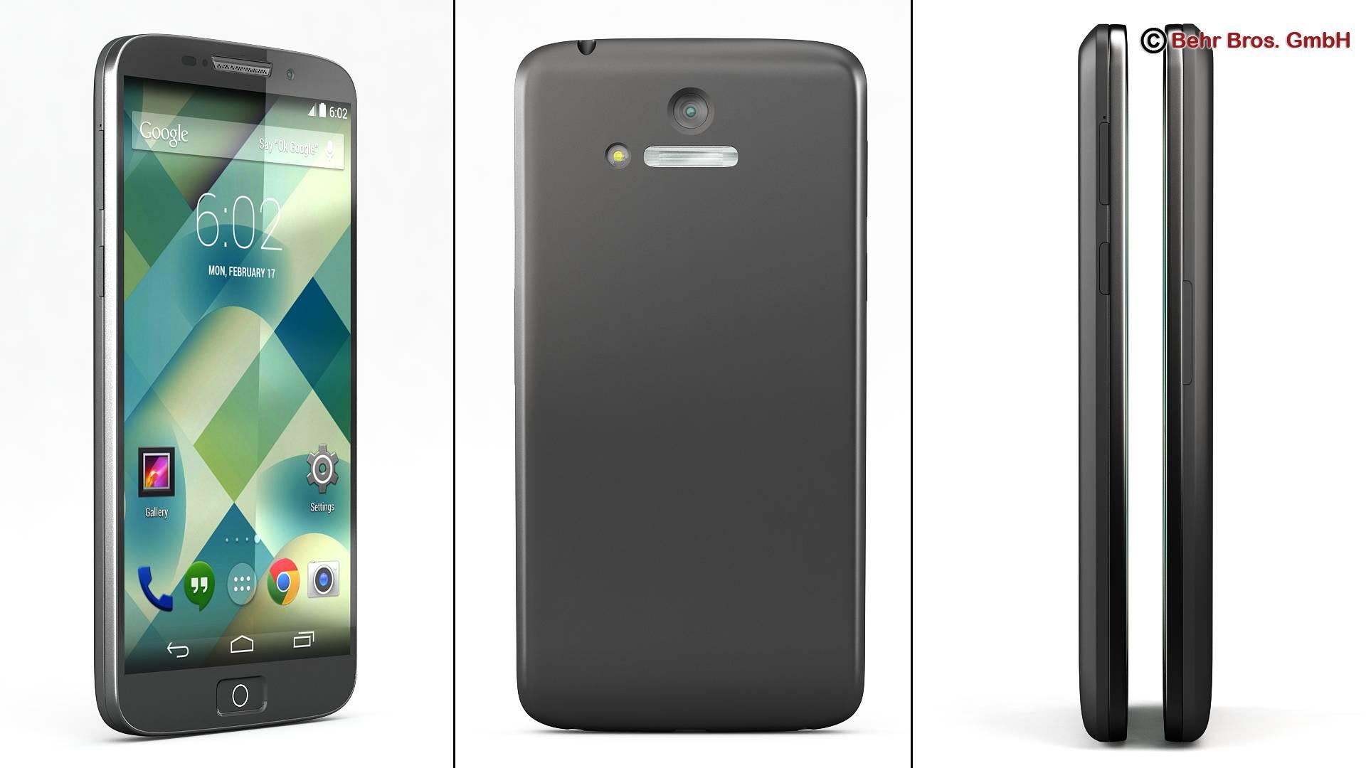 Generic Smartphone 5.2 Inch 3d model 3ds max fbx c4d lwo lws lw ma mb obj 161647