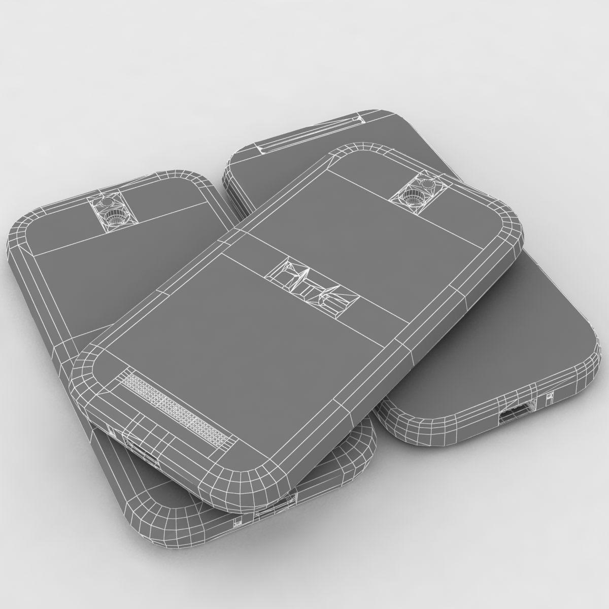 htc desire sv – lowpoly 3d model 3ds max fbx ma mb obj 154256