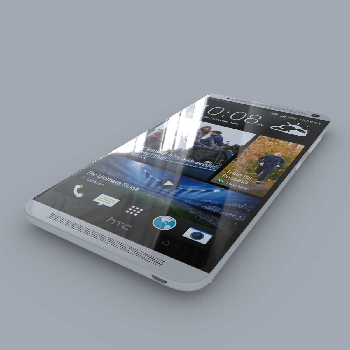 htc one max 3d model max c4d ma mb obj 158164