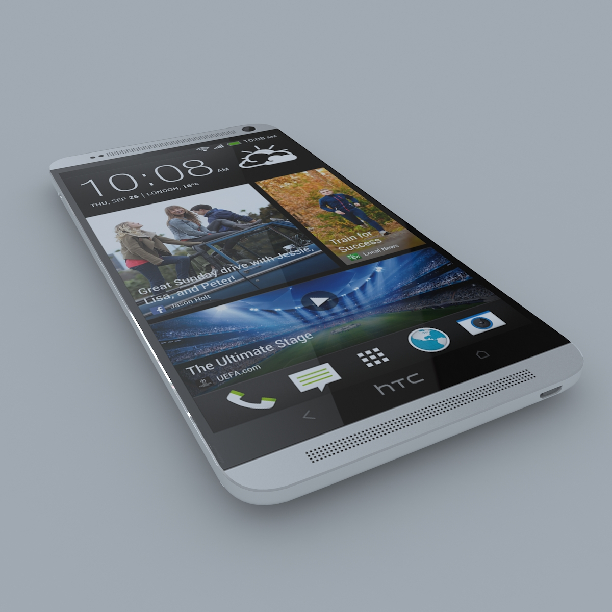 htc one max 3d model max c4d ma mb obj 158165