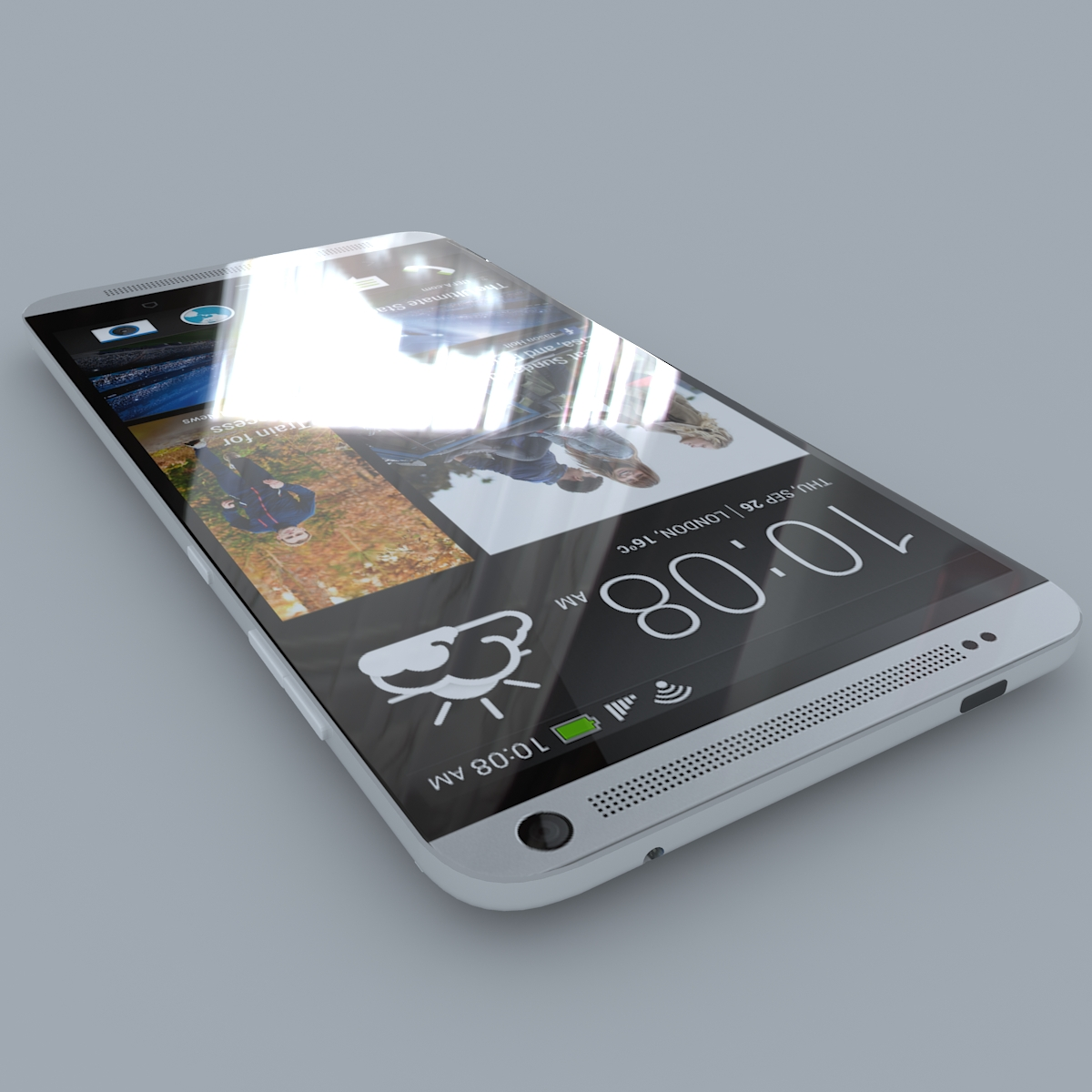 htc one max 3d model max c4d ma mb obj 158166