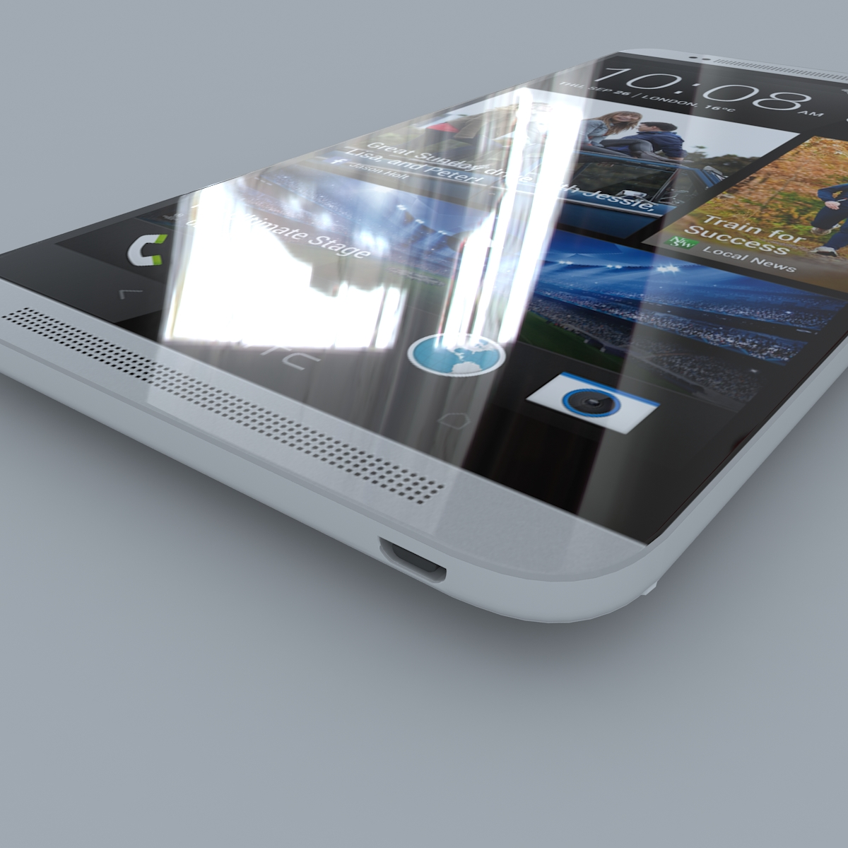 htc one max 3d model max c4d ma mb obj 158167