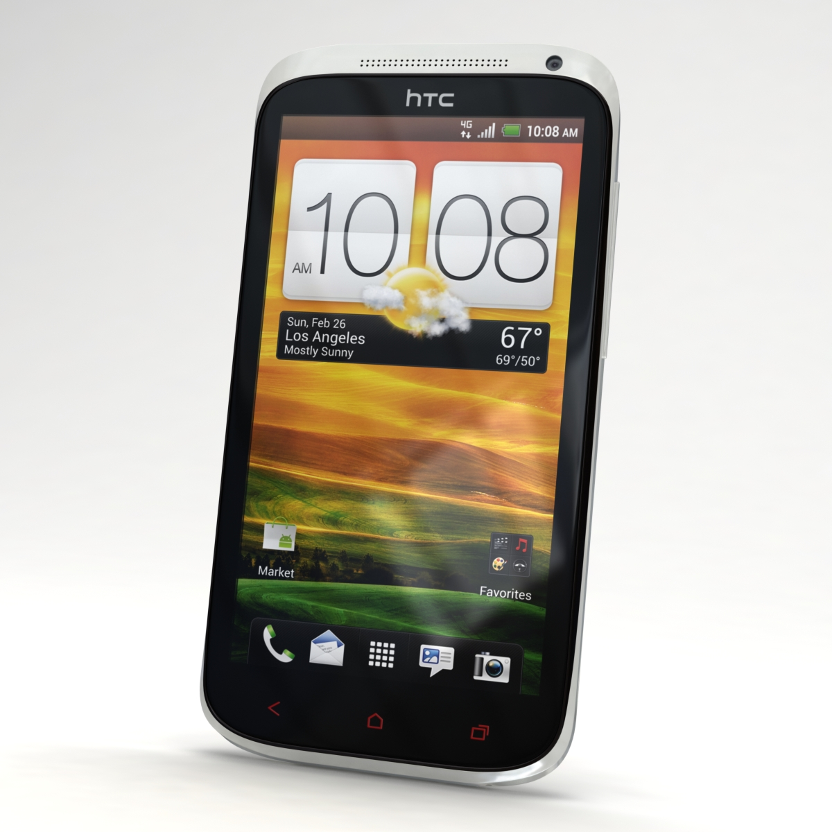 htc one x+ black and white 3d model 3ds max fbx c4d lwo obj 151459