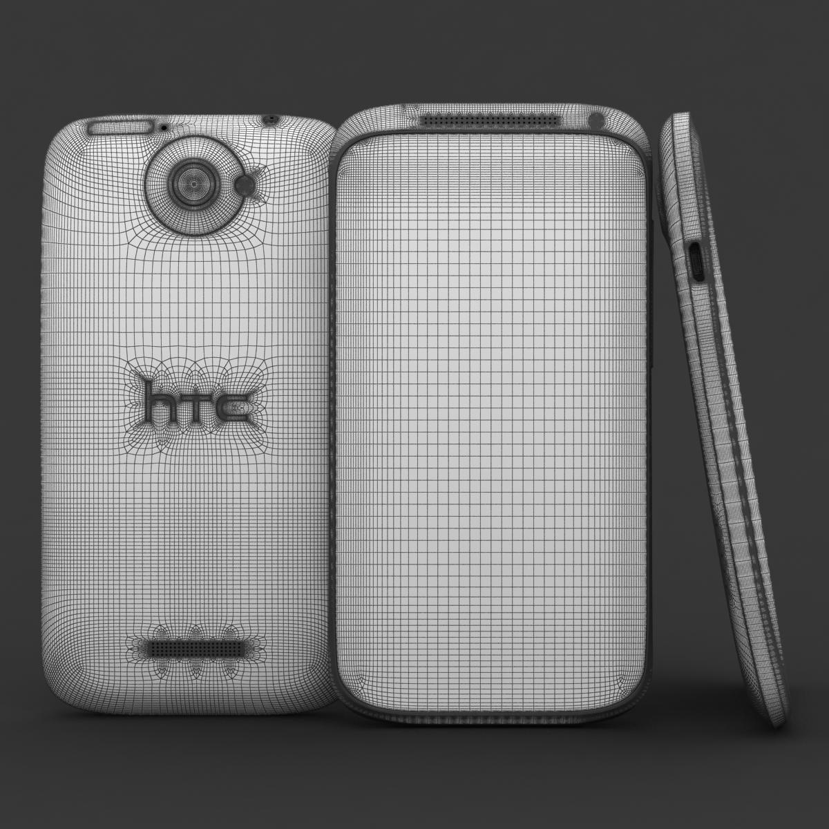 htc viens x + polārs balts 3d modelis 3ds max fbx c4d lwo obj 151419