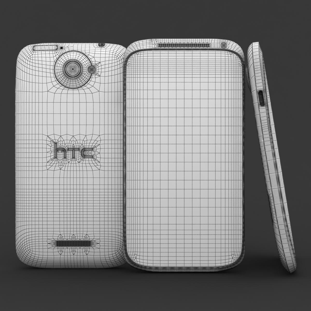 htc viens x + polārs balts 3d modelis 3ds max fbx c4d lwo obj 151420