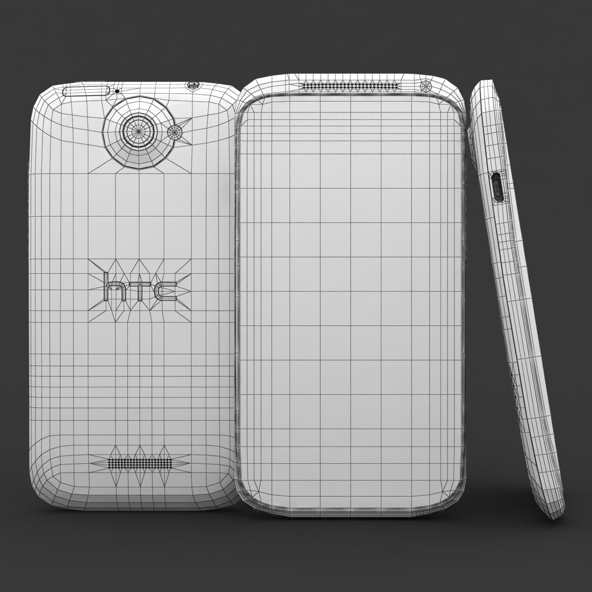 htc viens x + polārs balts 3d modelis 3ds max fbx c4d lwo obj 151421