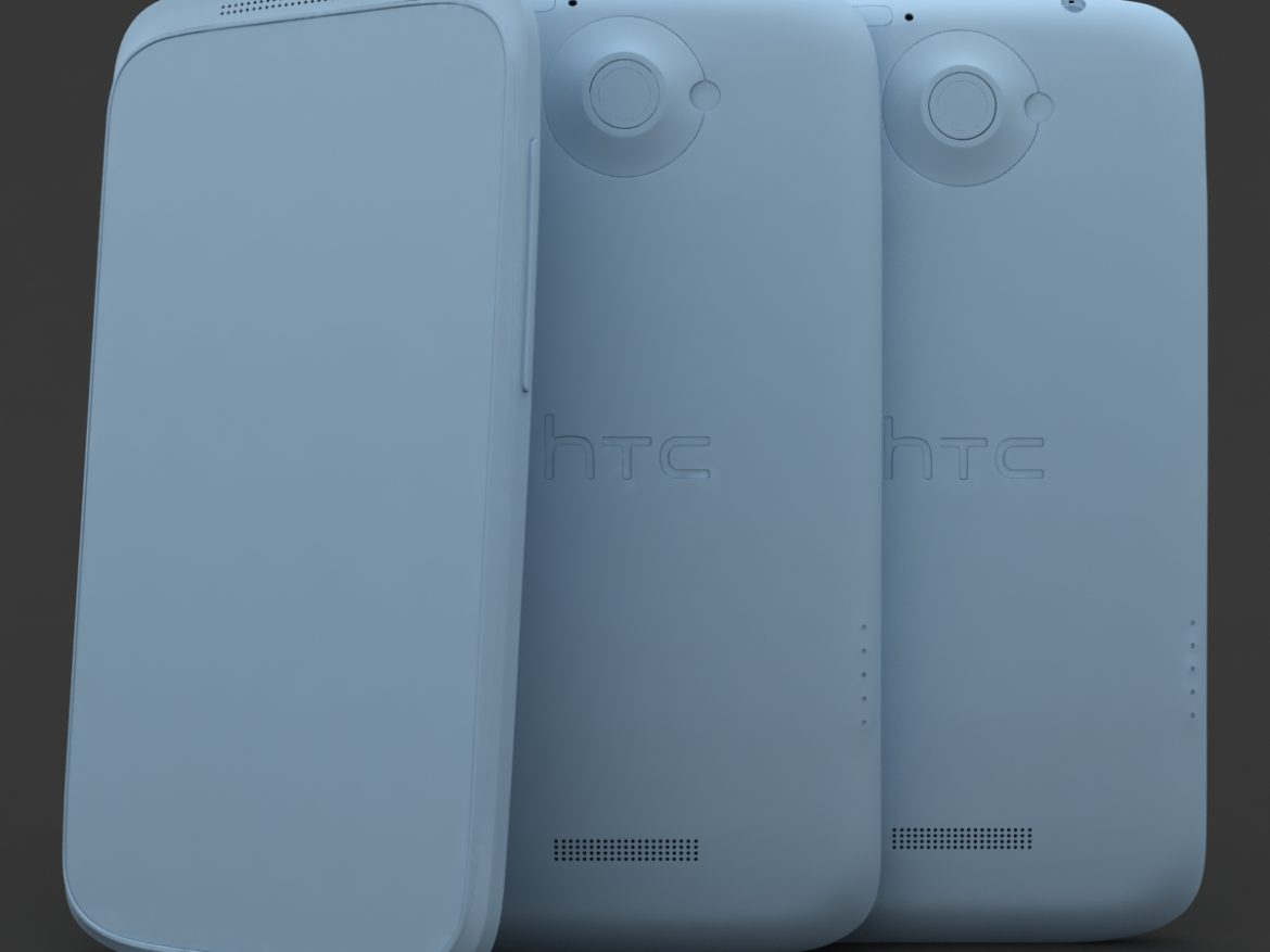 HTC One X+ Black and White ( 370.08KB jpg by 3dtoss )
