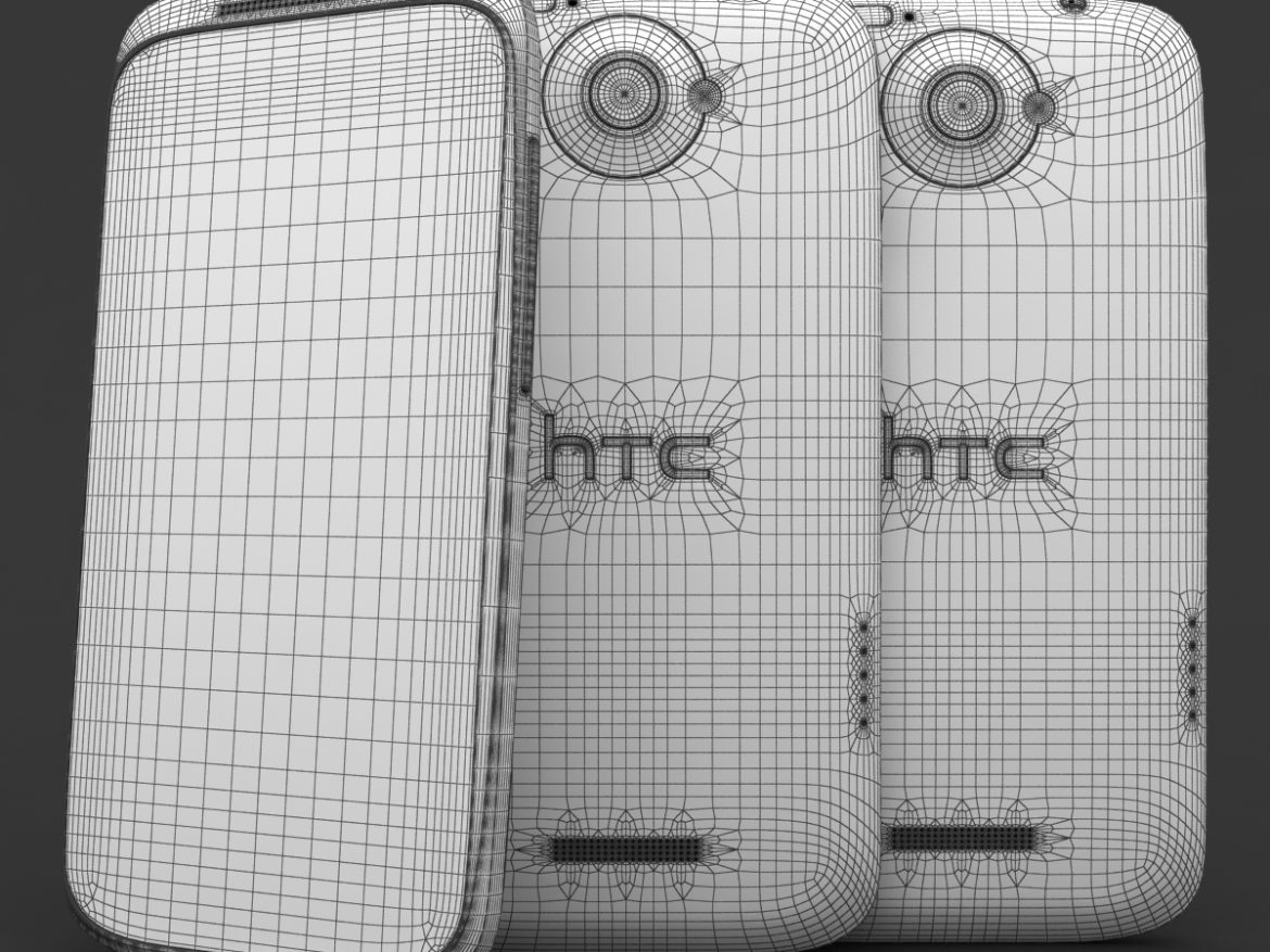 HTC One X+ Black and White ( 788.37KB jpg by 3dtoss )