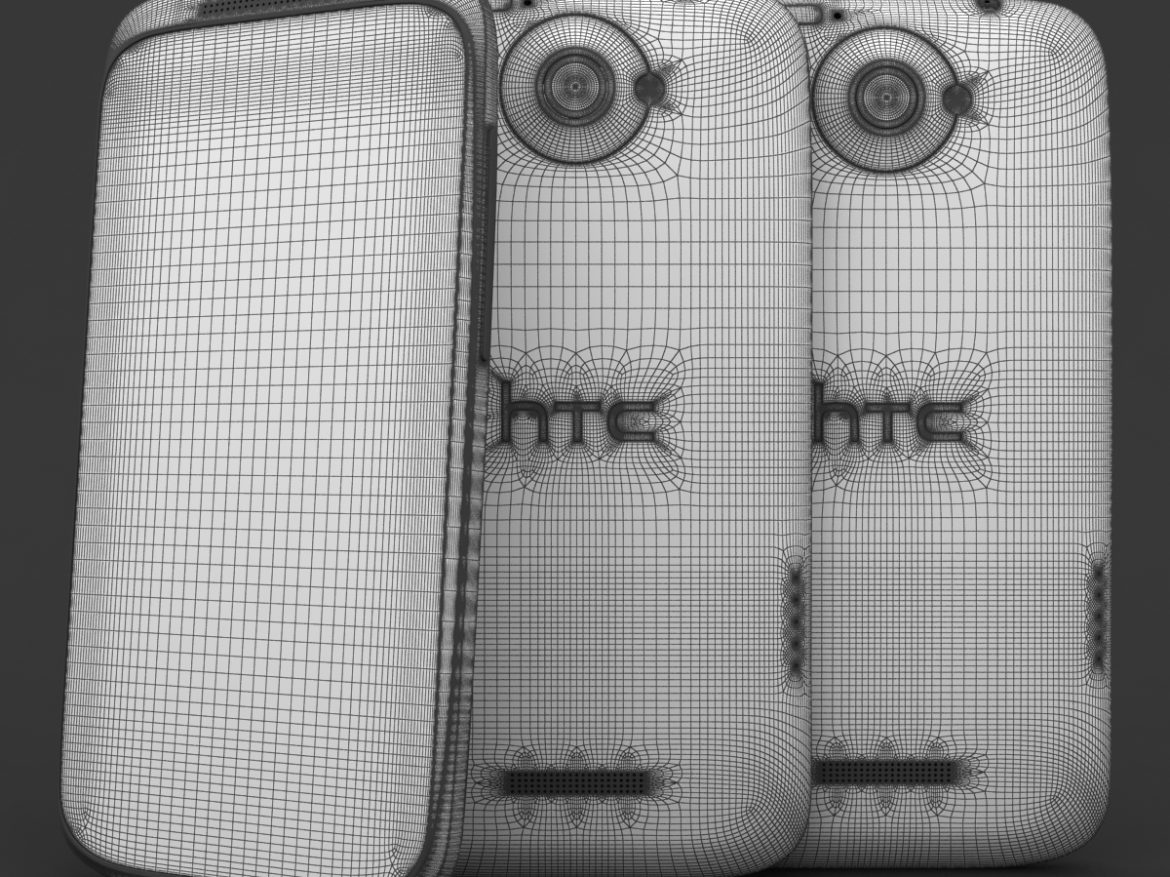HTC One X+ Black and White ( 893.85KB jpg by 3dtoss )