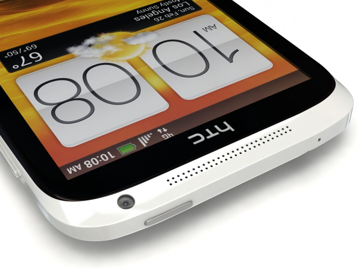 HTC One X+ Black and White ( 485.95KB jpg by 3dtoss )