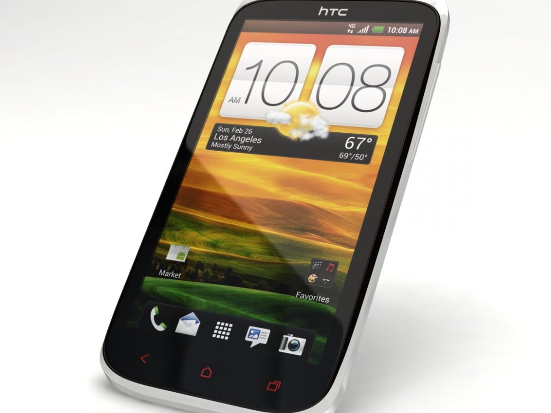 HTC One X+ Polar White ( 429.29KB jpg by 3dtoss )