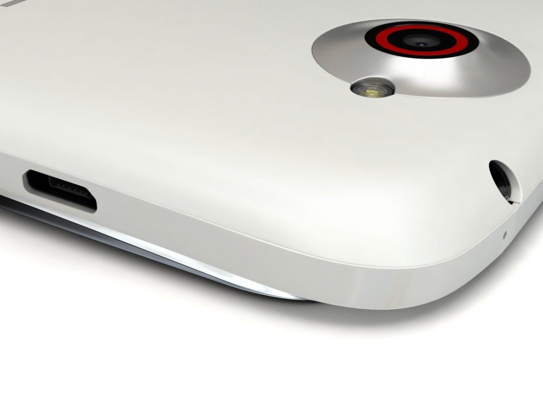 HTC One X+ Polar White ( 334.45KB jpg by 3dtoss )