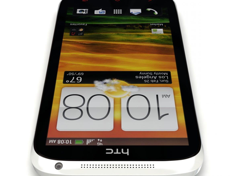 HTC One X+ Polar White ( 417.66KB jpg by 3dtoss )