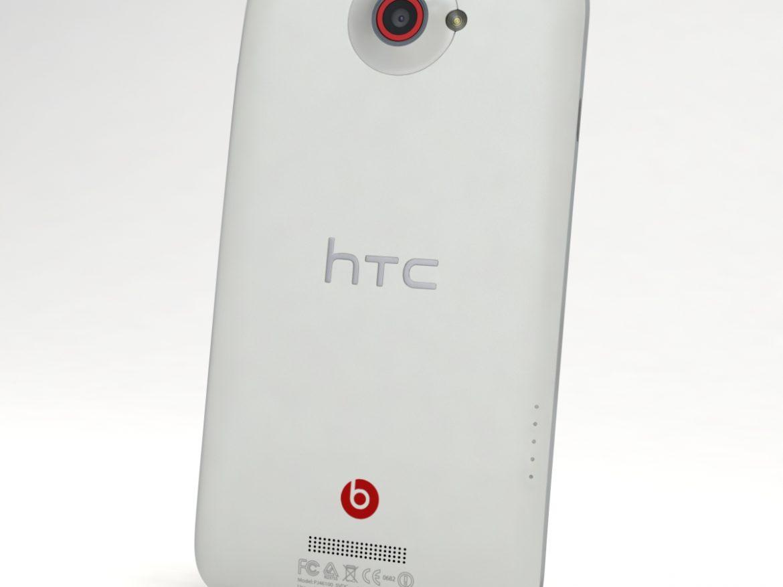 HTC One X+ Polar White ( 346.81KB jpg by 3dtoss )