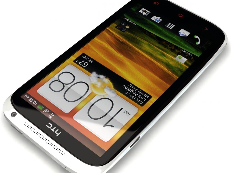 HTC One X+ Polar White ( 431.16KB jpg by 3dtoss )