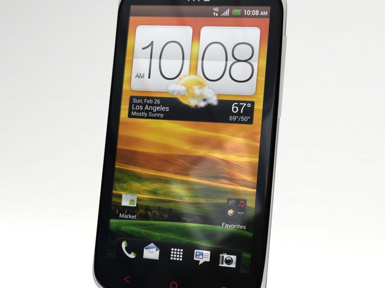 HTC One X+ Polar White ( 493.97KB jpg by 3dtoss )
