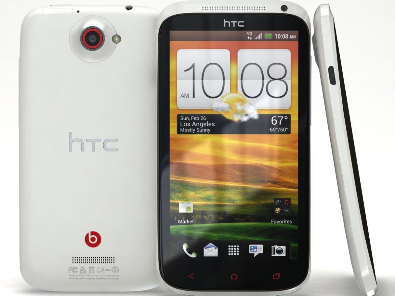 HTC One X+ Polar White ( 510.67KB jpg by 3dtoss )