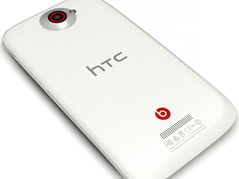 HTC One X+ Polar White ( 273.4KB jpg by 3dtoss )