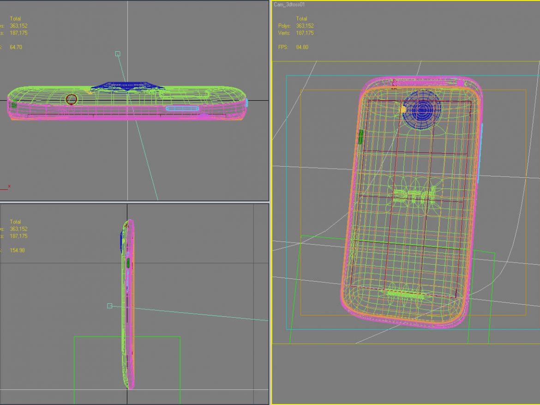 HTC One X+ Polar White ( 199.99KB jpg by 3dtoss )