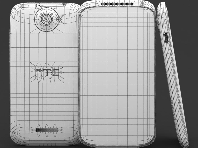 HTC One X+ Polar White ( 573.81KB jpg by 3dtoss )