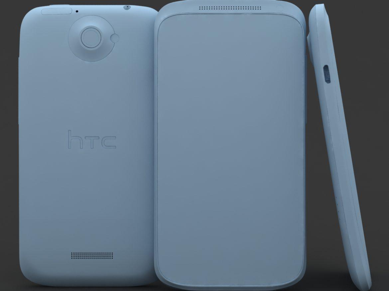 HTC One X+ Polar White ( 364.57KB jpg by 3dtoss )