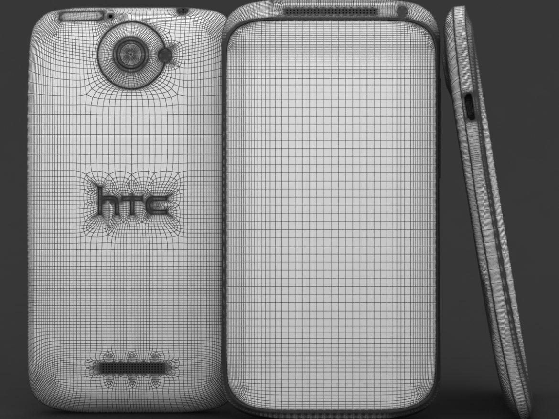HTC One X+ Polar White ( 793.21KB jpg by 3dtoss )