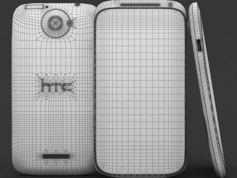HTC One X+ Polar White ( 699.01KB jpg by 3dtoss )