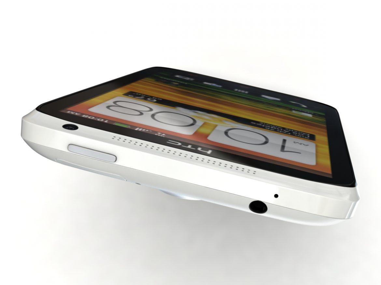 HTC One X+ Polar White ( 322.82KB jpg by 3dtoss )
