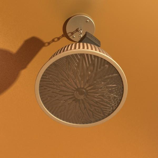 lekapan lampu perindustrian 3d model 3ds max fbx obj 131365