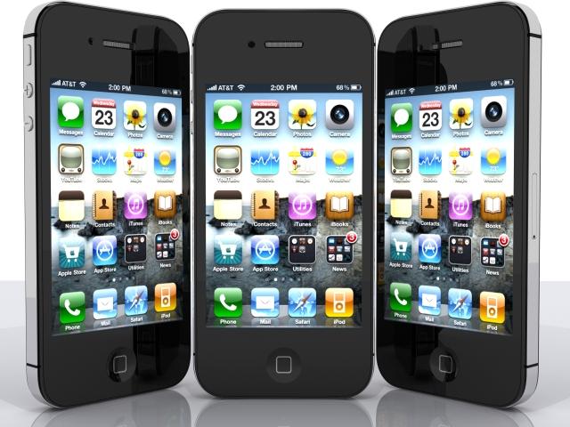 iPhone 4s 3d модел max fbx 165653