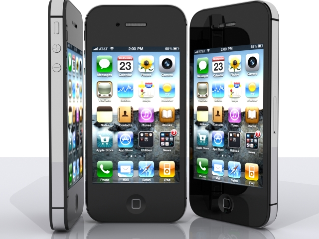 iphone 4s 3d model max fbx 165654