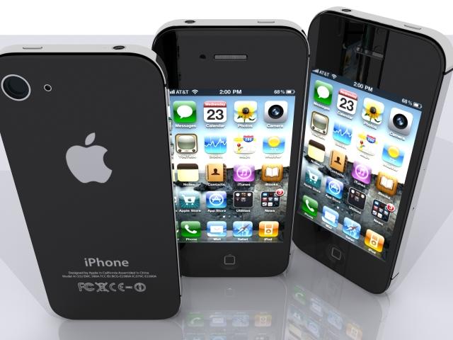 iphone 4s 3d model max fbx 165655