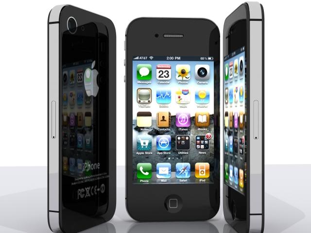 iphone 4s 3d model max fbx 165656