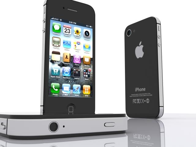 iphone 4s 3d model max fbx 165657