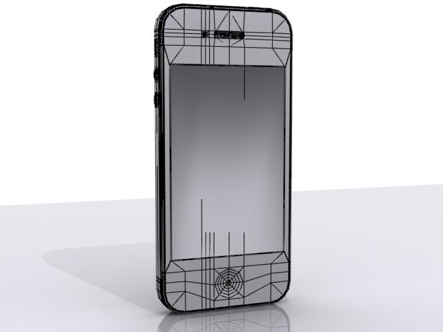 iphone 4s 3d model max fbx 165659