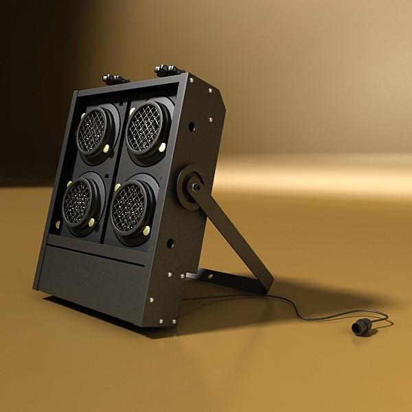 hərəkətli başlıq səhnə işığı 02 3d model 3ds max fbx obj 130724