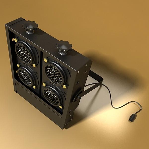 hərəkətli başlıq səhnə işığı 02 3d model 3ds max fbx obj 130725