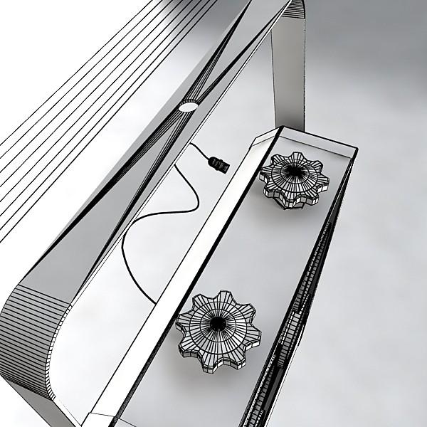 hərəkətli başlıq səhnə işığı 02 3d model 3ds max fbx obj 130736