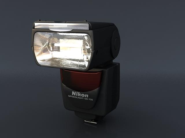 nikon sb 700 3d model max 120869